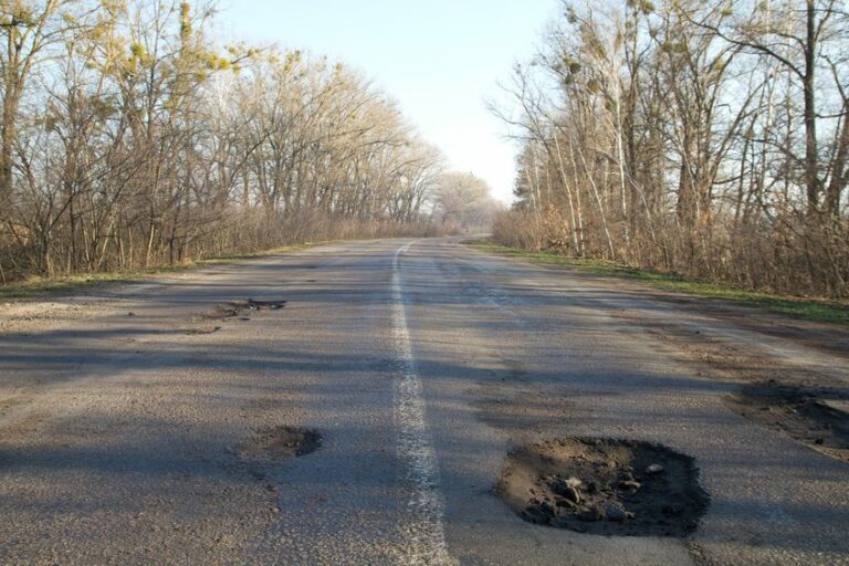 plague of potholes