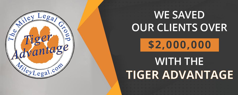tiger advantage graphic