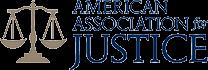 American Association of Justice Logo