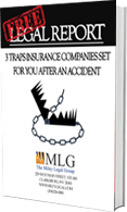 3 Traps that insurance companies set, a book by Tim Miley of the Miley Legal Group